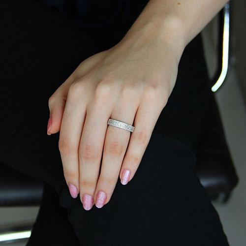bague femme argent zirconium 8101157 pic5