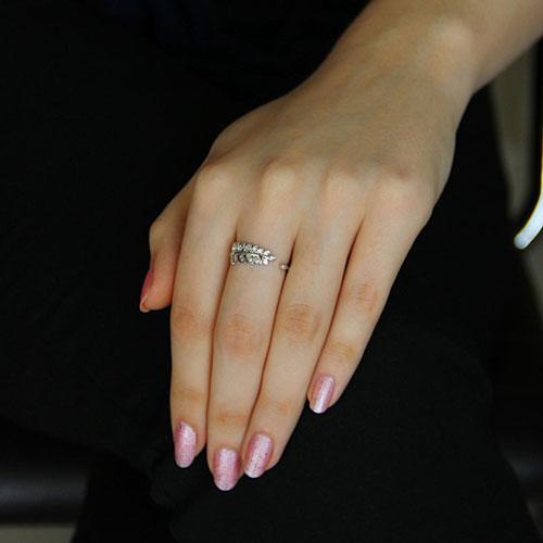 bague femme argent zirconium 8101171 pic5