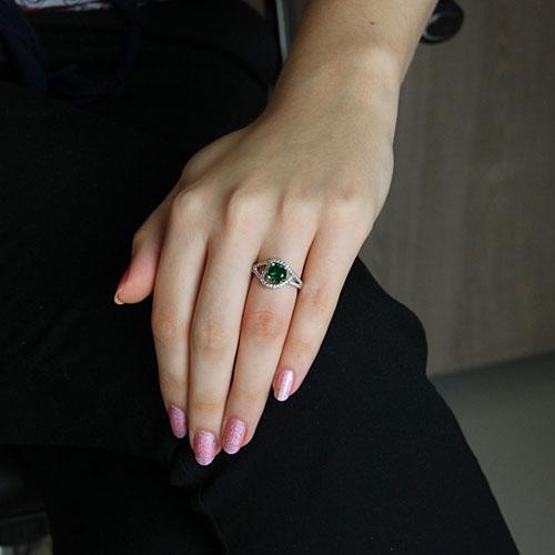 bague femme argent zirconium 8101191 pic5