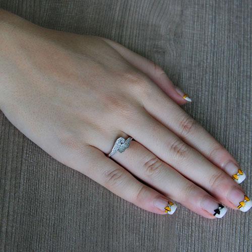 bague femme argent zirconium 8101228 pic5