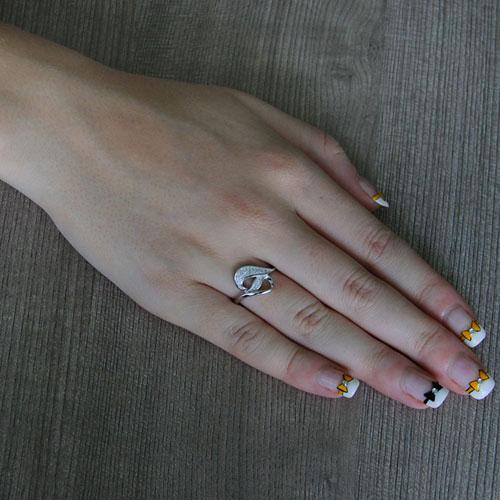 bague femme argent zirconium 8101230 pic5