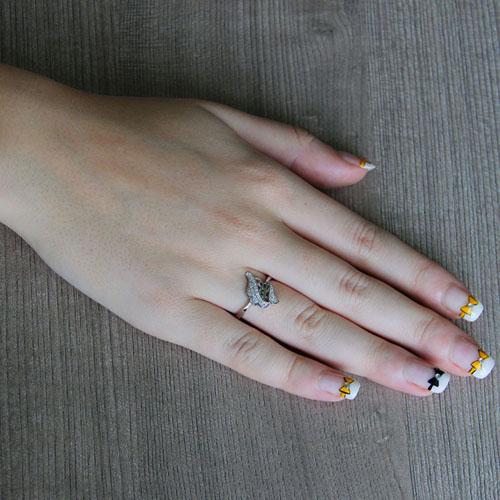bague femme argent zirconium 8101234 pic5