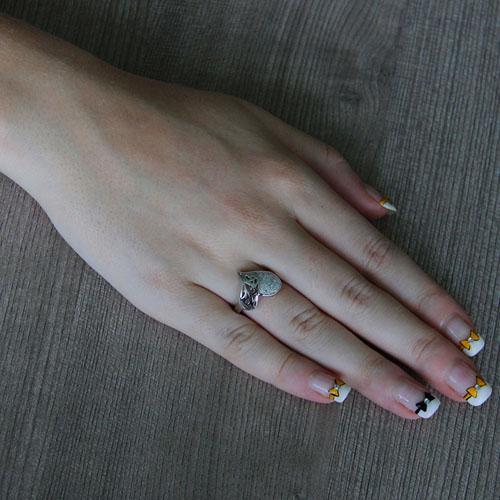 bague femme argent zirconium 8101239 pic5