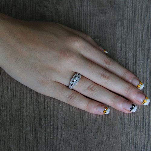 bague femme argent zirconium 8101241 pic5