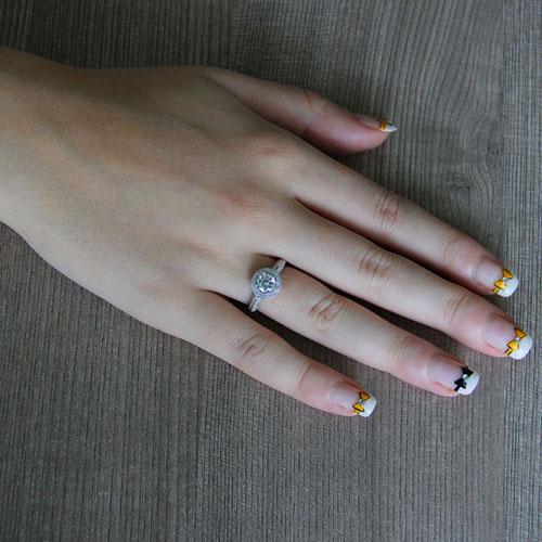 bague femme argent zirconium 8101258 pic5