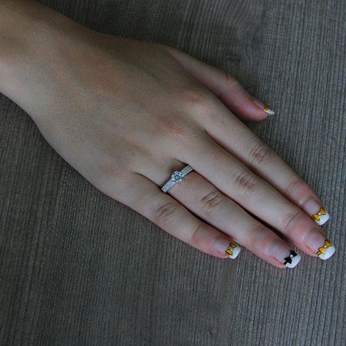 bague femme argent zirconium 8101267 pic5