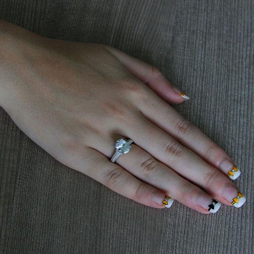 bague femme argent zirconium 8101268 pic5