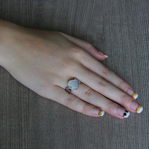 bague femme argent zirconium 8101272 pic5