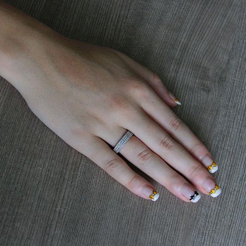bague femme argent zirconium 8101286 pic5