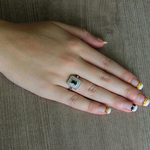 bague femme argent zirconium 8101328 pic5
