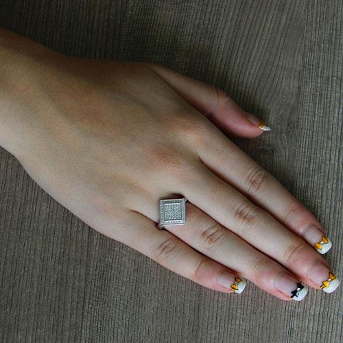 bague femme argent zirconium 8101336 pic5