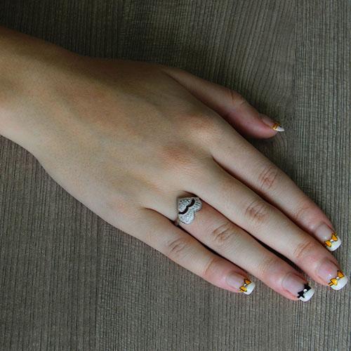 bague femme argent zirconium 8101340 pic5