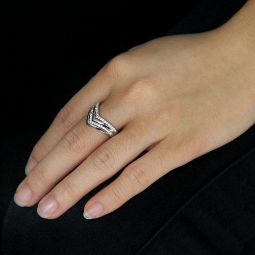 bague femme argent zirconium 8101411 pic5