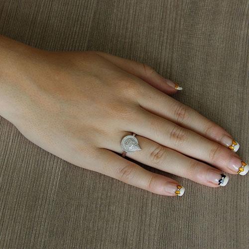 bague femme argent zirconium 8101436 pic5
