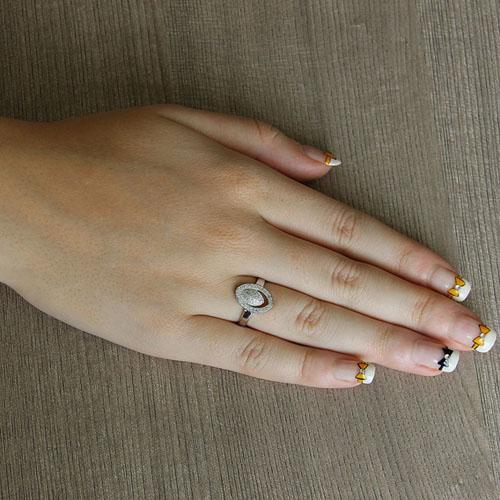 bague femme argent zirconium 8101441 pic5