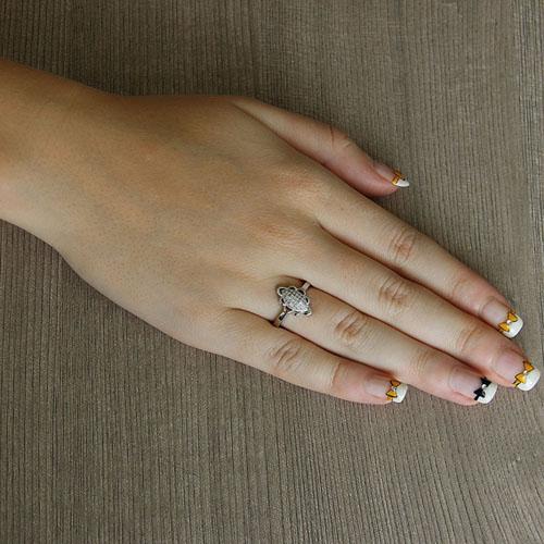 bague femme argent zirconium 8101443 pic5