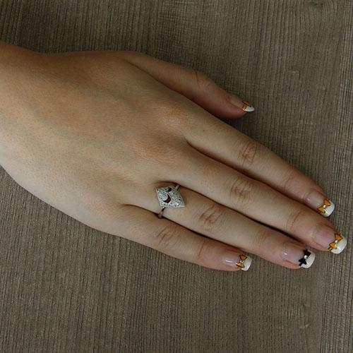 bague femme argent zirconium 8101449 pic5