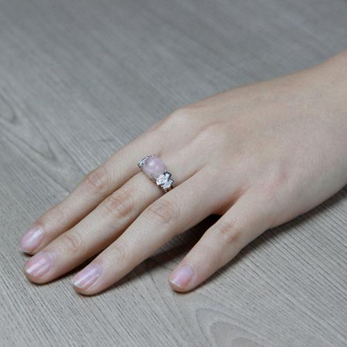 bague femme argent zirconium cristal 8100165 pic5