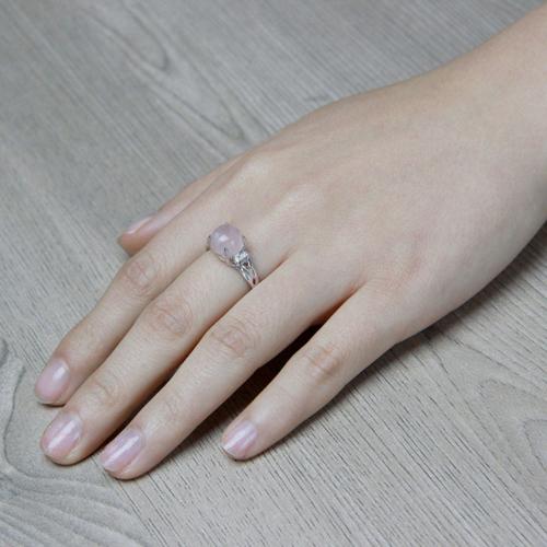 bague femme argent zirconium cristal 8100169 pic6