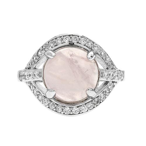 bague femme argent zirconium cristal 8100170 pic2
