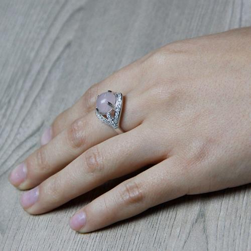 bague femme argent zirconium cristal 8100170 pic5