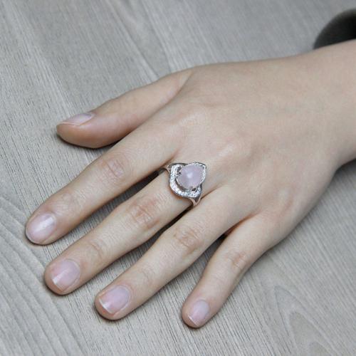 bague femme argent zirconium cristal 8100171 pic5