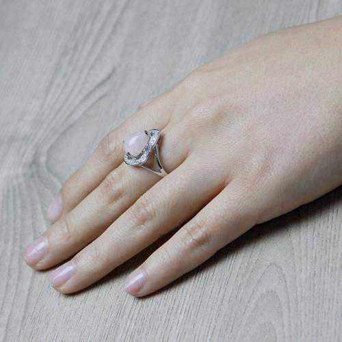 bague femme argent zirconium cristal 8100171 pic7