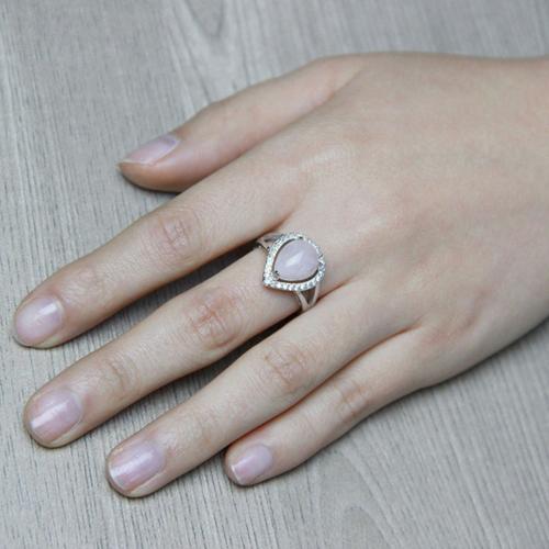 bague femme argent zirconium cristal 8100172 pic5