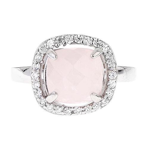 bague femme argent zirconium cristal 8100293 pic2