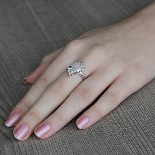 bague femme argent zirconium cristal 8100294 pic5