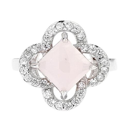 bague femme argent zirconium cristal 8100296 pic2