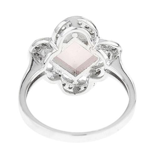 bague femme argent zirconium cristal 8100296 pic4