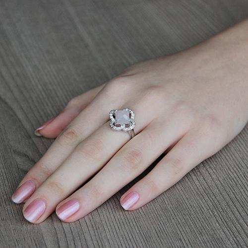 bague femme argent zirconium cristal 8100296 pic5