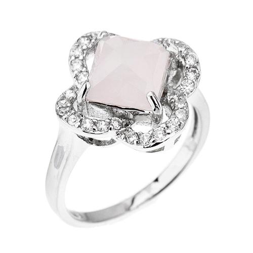 bague femme argent zirconium cristal 8100296