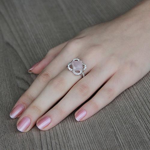 bague femme argent zirconium cristal 8100297 pic5