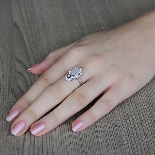 bague femme argent zirconium cristal 8100298 pic5