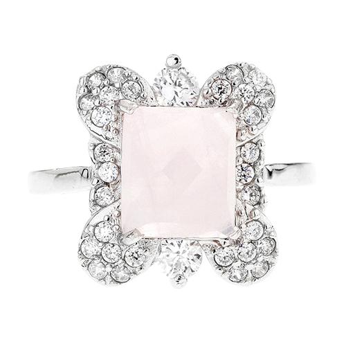 bague femme argent zirconium cristal 8100299 pic2