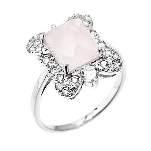 bague femme argent zirconium cristal 8100299