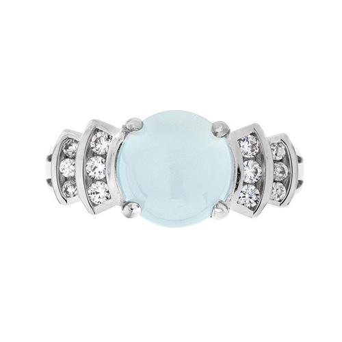 bague femme argent zirconium diamant 8100166 pic2