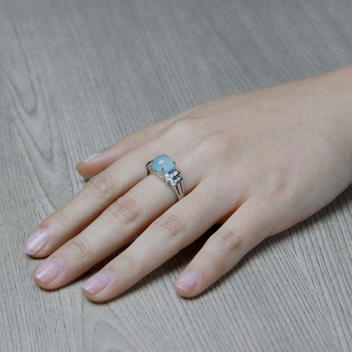 bague femme argent zirconium diamant 8100166 pic5