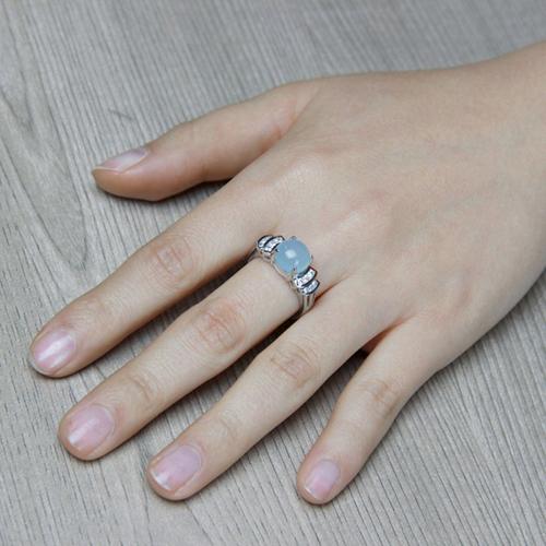 bague femme argent zirconium diamant 8100166 pic6