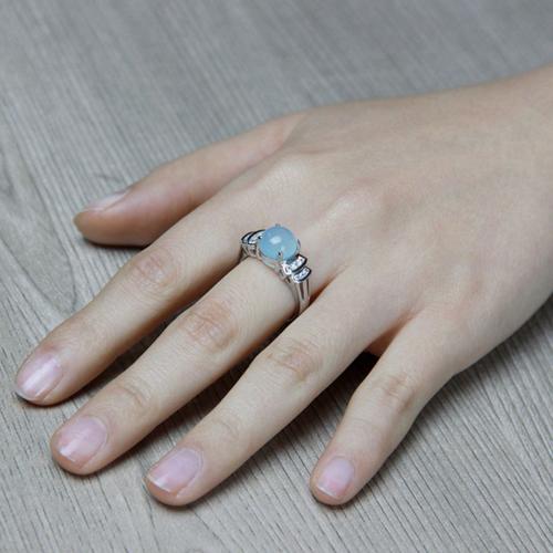 bague femme argent zirconium diamant 8100166 pic7
