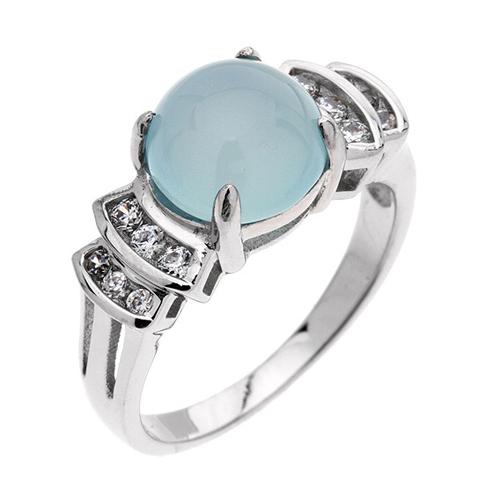 bague femme argent zirconium diamant 8100166