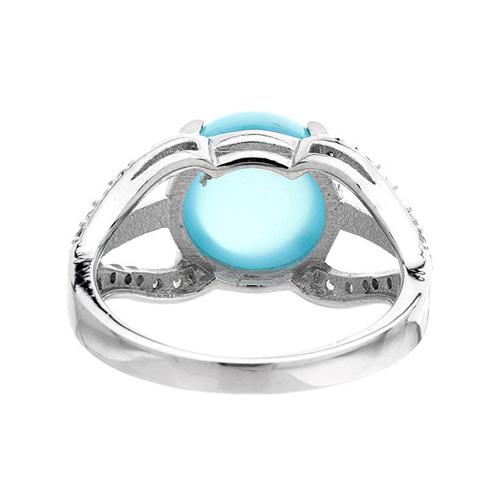 bague femme argent zirconium diamant 8100167 pic4