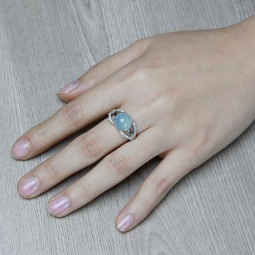 bague femme argent zirconium diamant 8100167 pic5