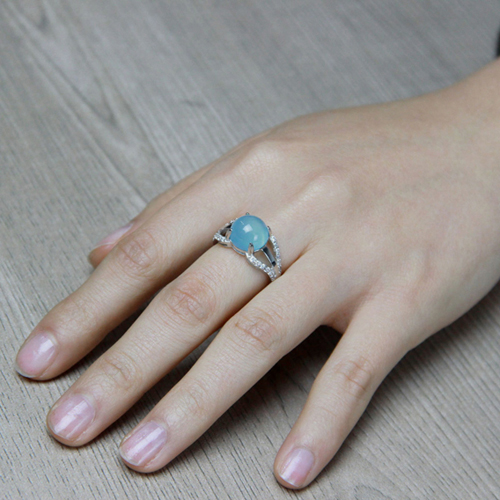 bague femme argent zirconium diamant 8100167 pic7