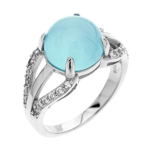 bague femme argent zirconium diamant 8100167