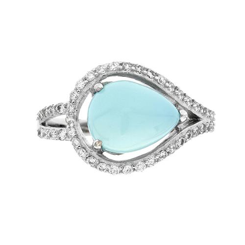 bague femme argent zirconium diamant 8100173 pic2
