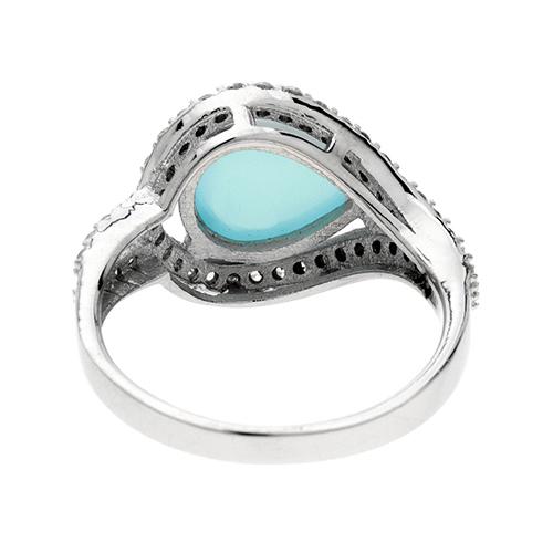 bague femme argent zirconium diamant 8100173 pic4
