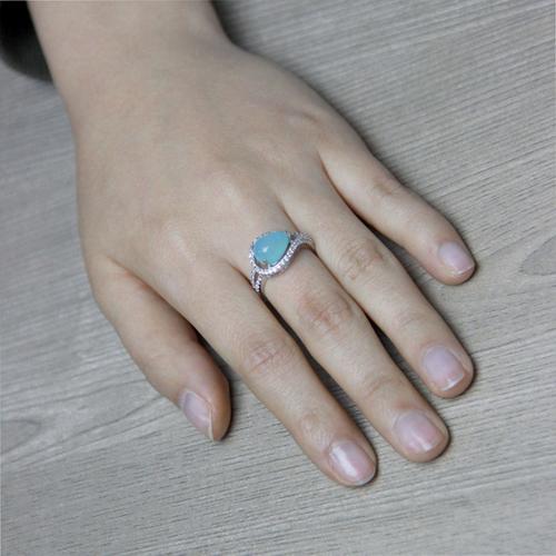 bague femme argent zirconium diamant 8100173 pic5
